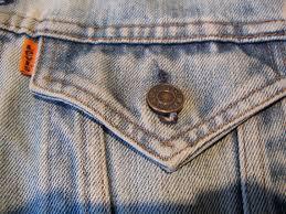 Blind Guardian Tabs Customized Vintage Levi U0027s Orange Tab Denim Jacket W Blind