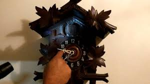 Antique Cuckoo Clock Antique Black Forest Cuckoo Clock Working Youtube