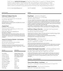 User Experience Designer Resume Resume