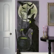 hair raising gothic halloween home decor featuring glass window
