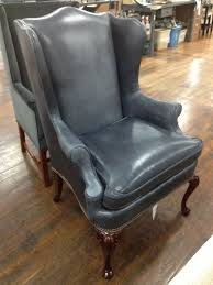 Queen Anne Wingback Chair Leather 37 Best Leather Upholstery Images On Pinterest Upholstery