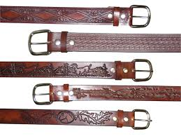 Natural Cowhide Leather Belt Blanks 1 1 2