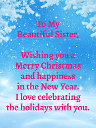 to my beautiful merry wishes card birthday