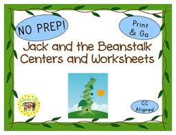 jack and the beanstalk fairy tales worksheets activities games and