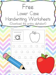 free handwriting practice worksheets