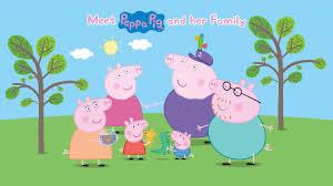 peppa pig episodes meet pig family cartoons children