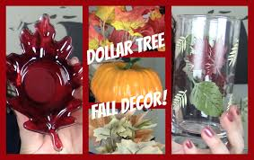 big dollar tree fall decor haul 2014 youtube