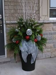 Christmas Decorations Outdoor Ideas - christmas pot décoration christmas decorations pinterest