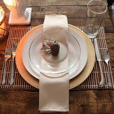 pitterandglink simple inexpensive thanksgiving table setting