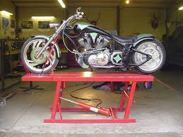 motocross bike lift lift table club chopper forums motorcycle pinterest lift