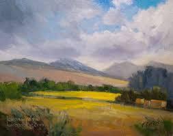 Impressionist Landscape Painting by 121 Best Karen Winters California Impressionist Landscape Painting