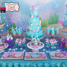 mermaid party ideas mermaids birthday party ideas photo 1 of 7 catch my party