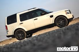 black land rover lr4 land rover lr4 black pack u2013 review motoring middle east car