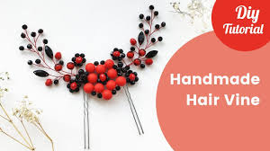 handmade hair accessories easy hair vine tutorial handmade hair accessories diy craft