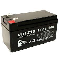 werker wka12 1 3f battery ub1213 12v 1 3ah sealed lead acid sla