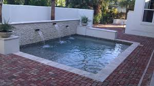 Pool Ideas For Small Backyard Small Space Swimming Pool Solutions Surfside Pools Jacksonville Fl