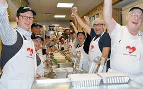 volunteer for thanksgiving soup kitchen nyc information