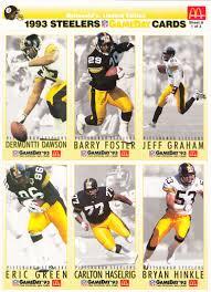 Pittsburgh Steelers Comforter Set 1993 Mcdonald U0027s Gameday Pittsburgh Steelers Sheets The