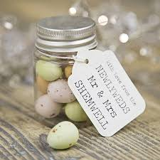 ideas for wedding favours