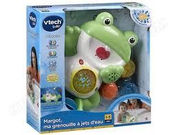 si e de bain vtech jouet de bain vtech margot ma grenouille à jet deau 129505 pas cher