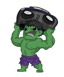 super chibis hulk bruce banner ijen ekusas deviantart