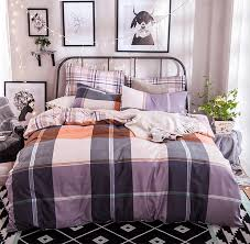compare prices on checked bedding sets online shopping buy low