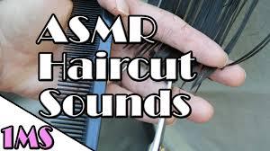 sleep music 1h of asmr haircut scissors sounds sounds sleep