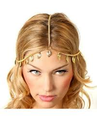 chain headpiece blanc feather chain headpiece free post the flower shop