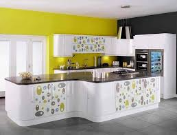 yellow and white kitchen ideas yellow and white kitchen designs cabinets ideas photos home