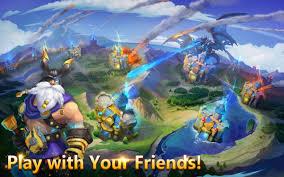 game castle clash mod apk castle clash v1 3 4 for android castle clash mod apk pinterest
