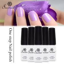 aliexpress com buy saviland 1pcs one step 3 in 1 nail gel long