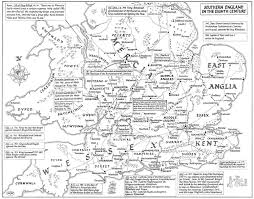 Map Of Kent England by Maps Of Anglo Saxon England Kemble