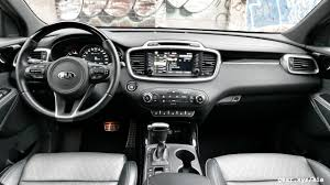 mitsubishi suv 2016 interior 2017 kia sorento in 7 passenger suv showdown with toyota honda