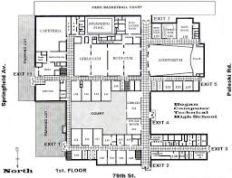 building floor plan building plans and designs atherton high building