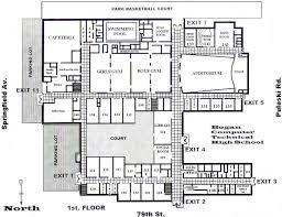 building floor plan school building plans and designs atherton high school building