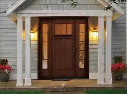 Steel Or Fiberglass Exterior Door Magnificent Fiberglass Entry Door On Three Surprising Truths About