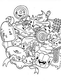 coloring candy coloring page