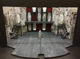 Interior Design Colleges California Scenic Design Model For Grease The Musical At Tarrant County