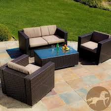 Wicker Patio Lounge Chairs Patio Lounge Chairs As Outdoor Patio Furniture And Unique 4 Piece