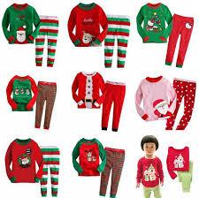 pajamas sets children sleepwear boys nightwear family