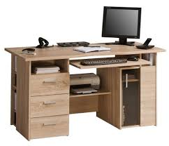 Desk Storage Drawers Solid Wood Computer Desk With Several Drawers An Option Computer