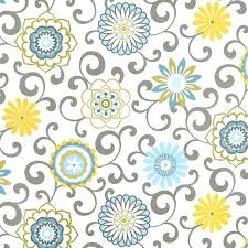 Yellow And Blue Curtains Yellow Blue Curtains Blue Yellow Window Curtains Floral Medallion
