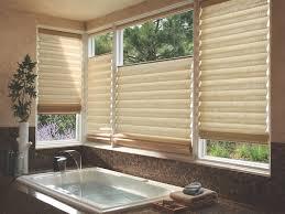 Blinds  Shades For Bathrooms Window Designs By Diane - Bathroom window design