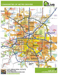 City Of Phoenix Map by Denver Neighborhood Map L Find Your Way Around Denver L
