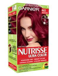 black hair to raspberry hair 462 tempting raspberry