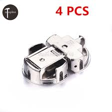compare prices on hinges for cabinet doors online shopping buy wholesale 4 pcs soft close kitchen cabinet door hinge hydraulic slow shut clip on hinge