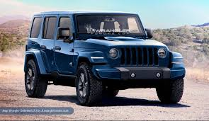 2018 jeep wrangler renderings based on spy shots and intel
