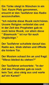 dienstjubil um spr che lustig ein türke steigt in münchen in ein taxi lustige bilder