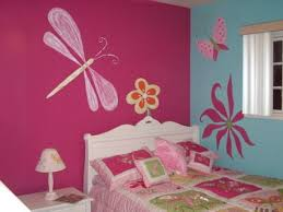 Handsome Girl Bedroom Wall Color Ideas  In Cool Paint Ideas For - Ideas to decorate girls bedroom