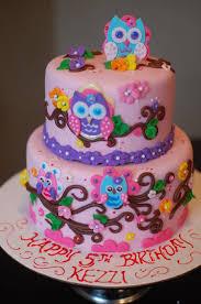 owl birthday cakes owl birthday cake cake by thesweetflour cakesdecor